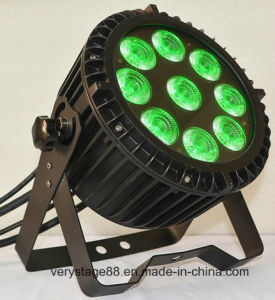 Waterproof Outdoor Light 9 Pieces 12W RGBWA 5-in-1 LED PAR pictures & photos