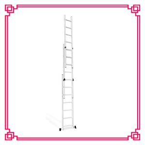 2 Section Extension Aluminium Ladder pictures & photos