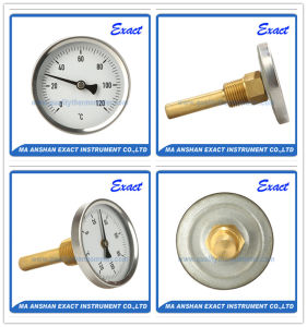 Hot Water Thermometer - Back Mount Thermometer - Bimetal Pipe Thermometer pictures & photos
