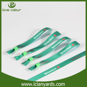 Disposable Waterproof Festival Bracelet Cloth Wristband with Logo Printed