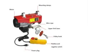 PA600 Electric Wire Rope Hoist pictures & photos
