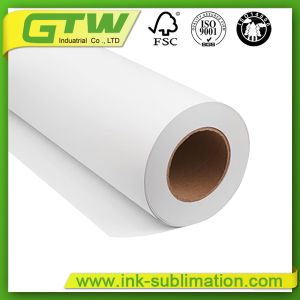 80GSM/90GSM/100GSM Sublimation Tacky Transfer Paper Supplier for Digital Printing with Mimaki/Epson/Roland/Muton pictures & photos
