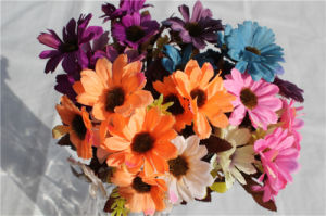Beauty Artificial Flowers Daisy for Wedding Table Centerpieces pictures & photos