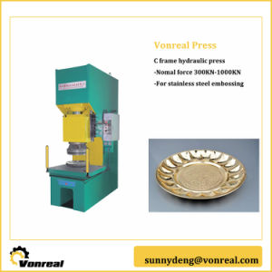 C Frame Hydraulic Press for Punch Pressing pictures & photos