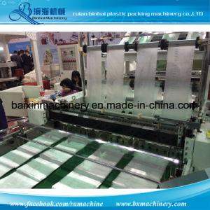 Bottom Sealing Flat Plastic Bag Making Machine 6 Lines pictures & photos