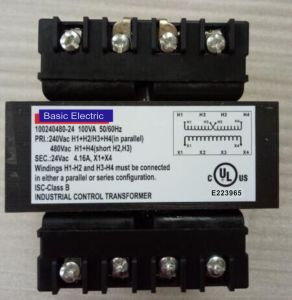 120/240 Volt Transformer with UL/cUL Listed Approval
