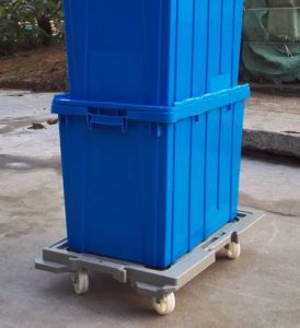 Plastic Logistic Tote Box, Plastic Moving Boxes Sale pictures & photos
