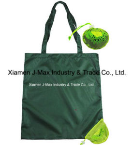 Foldable Shopper Bag, Fruits Kiwifruit Style, Reusable, Lightweight, Grocery Bags and Handy, Gifts, Promotion, Tote Bag, Decoration & Accessories pictures & photos