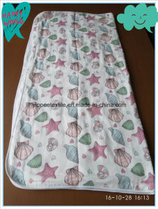 Baby Muslin Blanket Made of 4 Plies Cotton Muslin Fabric pictures & photos