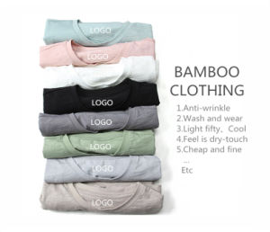 Distributor Fashion Clothes Printing or Embroidery Clothing Bamboo of Polo T Shirt for Men