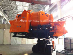 Diesel Trailer Concrete Pump with Drum Mixer of Hydraulic System (JBT40-D) pictures & photos