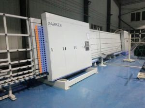 Insulating Glass Cleaning-Drying and Assembling Machine pictures & photos