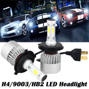 Car LED Headlight S2 High Power LED Car Headlight H4 H7 H8 H10 H11 H13 H16 for Car pictures & photos