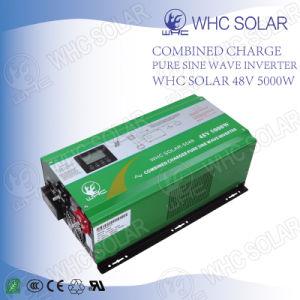Whc 5000W Pure Sine Wave Intelligent Solar Power Inverter pictures & photos