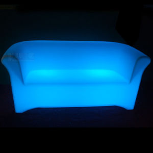 LED Illuminated Living Room Sofa Set Design Sofa pictures & photos