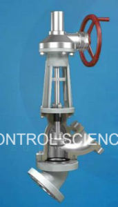 Y-Type Slurry Valve for Alumina Processing pictures & photos