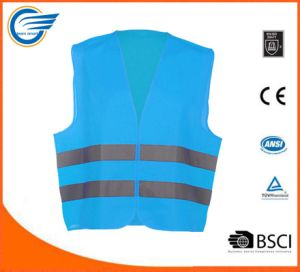 High Visibility En 20471 Vest Reflective Vest for Workwear pictures & photos