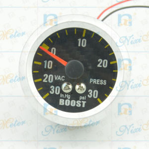 "2"" 52mm 30-30 Boost Gauge with Black Dial pictures & photos"