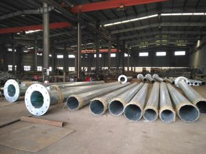Hot DIP Galvanized Highmast Pole pictures & photos