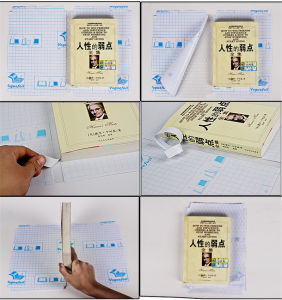High Quality Clear Plastic Book Cover pictures & photos