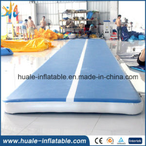 PVC Laminated Tarpaulin Inflatable Gym Mat, Air Track