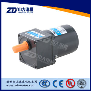 AC Reversible Gear Motor Normal Type, zd motor, 80mm 25W pictures & photos