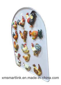 Promotional Polyresin Rooster Refridgerator Magnet pictures & photos