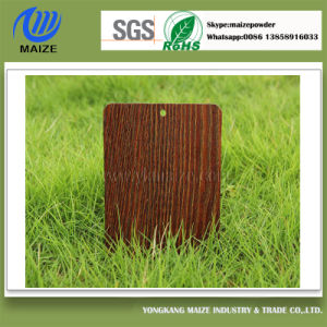 Manufacturer Wood Grain Polyester Powder Coating pictures & photos
