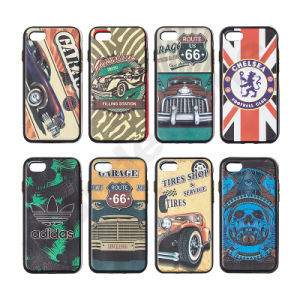 3D Embossed Pattern Relief Printing TPU Phone Cases for iPhone 7 pictures & photos
