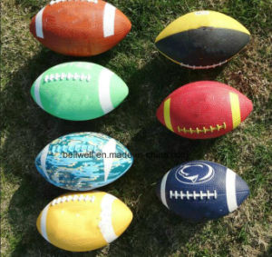 Customized Logo & Size Promotional Rubber Ball pictures & photos