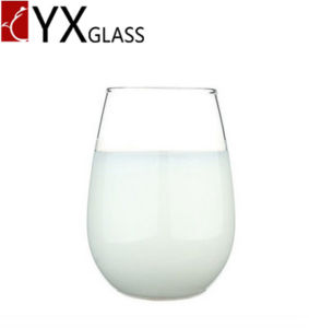 High-Borosilicate Heat Resistant Single Wall Glass Cup Stemless Wine Cup Milk Coffee Mug pictures & photos