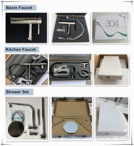 Manufacrurer Chrome Plated Bathroom Rain Shower Hand Shower Mixer pictures & photos