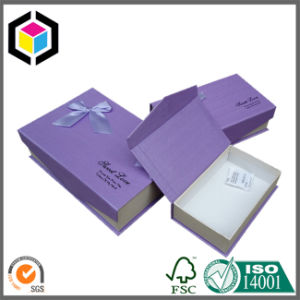 Factory Supply Color Print Cardboard Paper Jewelry Gift Box pictures & photos