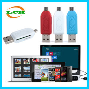 Micro USB Tfsd OTG Card Reader for Android Phone pictures & photos