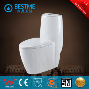 Sanitary Wares Western Cheap Siphonic One Piece Toilet (BC-2019) pictures & photos
