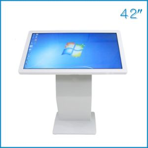 55-Inches Landscape Floor Stand IR/Capacitive Touch Monitor/Screen/Display pictures & photos