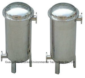 Stainless Steel Flange Bag Filter Housing Water Filtration Treatment Purifier pictures & photos