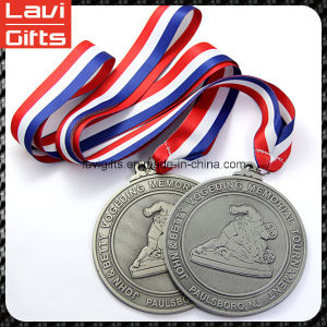 New Design Custom Logo Sport Medal with Ribbon pictures & photos