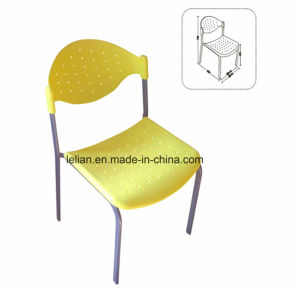 Good Sale Poly Seat and Back Stacking Guest Chair (LL-0023) pictures & photos