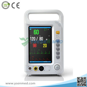 Yspm80A Hospital Medical Low Price Portable Handheld Patient Monitor pictures & photos