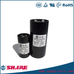 Non Polar Electrolytic Capacitor CD60 Capacitor pictures & photos