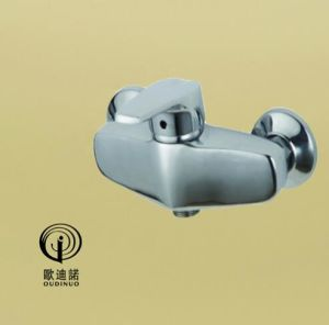 Oudinuo Single Handle Brass Bath Shower Faucet & Sink 66913-1 pictures & photos