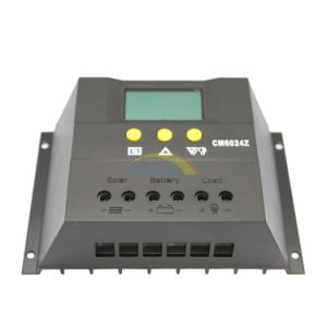 60A 12V/24V Solar Charge Controller/Regulator for PV System with Auto Switch Cm6024 pictures & photos