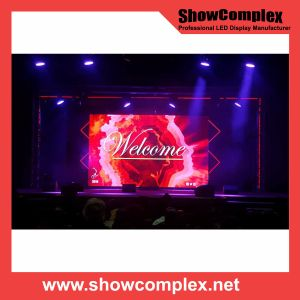 High Contrast of Indoor Full Color LED Video Wall (500mm*500mm/500mm*1000mm pH2.97) pictures & photos