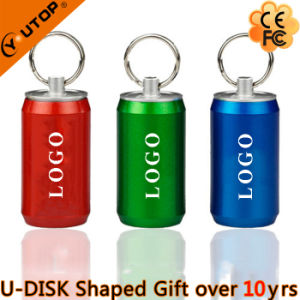 Plastic Colorful Pop Can Gift USB Flash Stick (YT-1132) pictures & photos