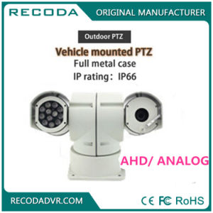 IR 100m Night Vision Intelligence PTZ Thermal Imaging Rugged Police Car Camera pictures & photos