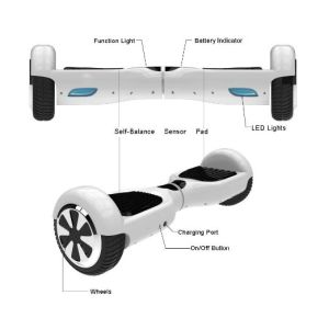 Io Hawk Smart Unicycle Electric Skateboard Hover Board pictures & photos