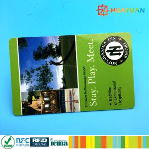 Customized Logo Printing MIFARE Classic 1K RFID Hotel Key Card pictures & photos
