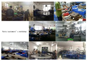 Rotary TPR. PVC Sole Injection Moulding Machine (three color) pictures & photos