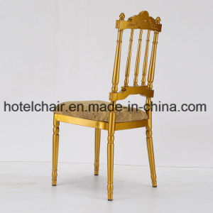 Napolen Metal Bamboo Chiavari Golden Aluminuim Chair pictures & photos